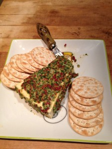 Festive Brie Cheese Appetizer
